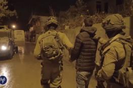 """الاحتلال يعتقل خمسة مواطنين من """"حزما """" شرق القدس"""