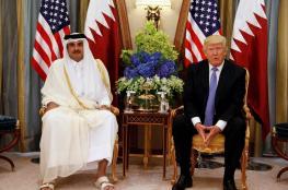 البيت الأبيض : مكالمة ترامب وتميم كانت دافئة وودية