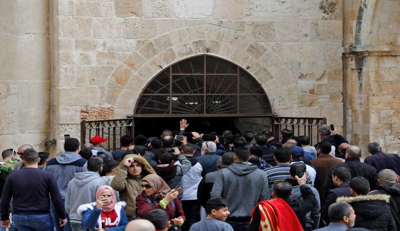 اسرائيل تقرر اغلاق مصلى الرحمة في الأقصى فوراً