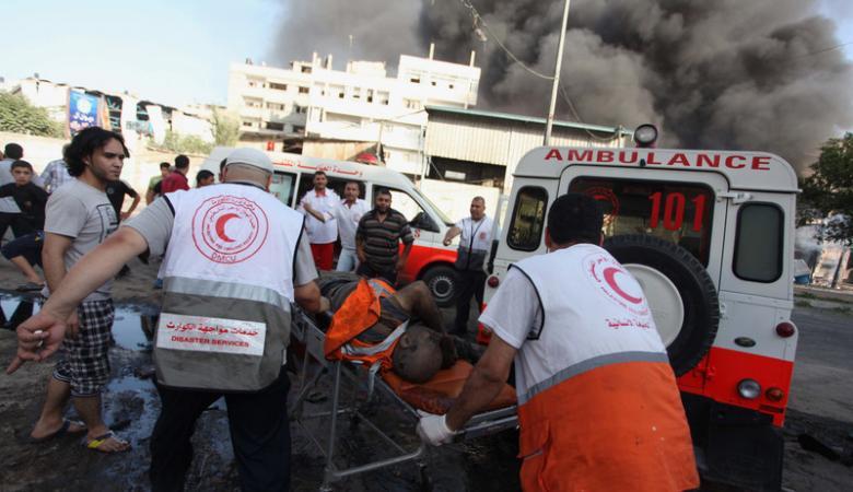 مصرع 3 أطفال أشقاء فلسطينيين جراء حريق في منزلهم (صورة )