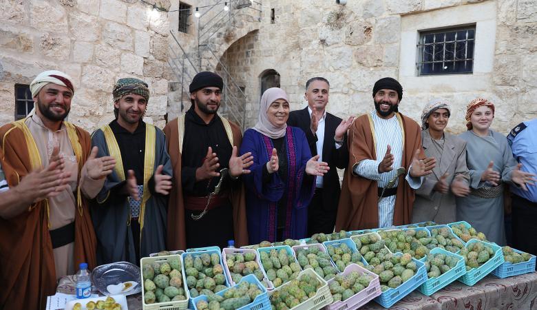 رام الله : افتتاح مهرجان التين الشوكي (الصبر) الثاني في نعلين