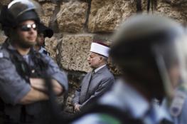قوة اسرائيلية تختطف مفتي فلسطين