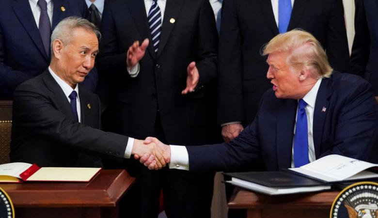 """مسؤول صيني: اتفاق """"المرحلة 1"""" التجاري يعزز العلاقات مع أمريكا"""