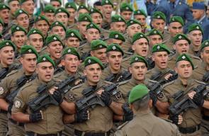 الجيش اللبناني يقدم عرضاً عسكرياً بمناسبة ذكرى الإستقلال الـ 74