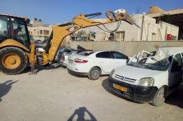 اتلاف 134 مركبة غير قانونية في رام الله