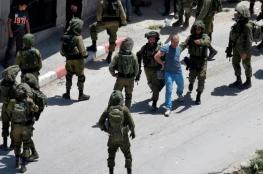 اعتقال 20 مواطناً من الضفة الغربية فجر اليوم