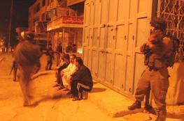 الاحتلال يشن حملة اعتقالات بالقدس والضفة الغربية