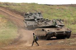 جيش الاحتلال ينشر آليات عسكرية ثقيلة في غور الأردن