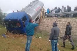 مصرع مواطنين واصابة 135 آخرين بحوادث سير في الضفة الغربية خلال الشهر الماضي