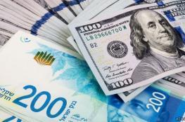 الدولار يتراجع أمام الشيكل في تعاملات اليوم الخميس