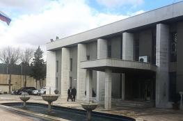 السفارة الروسية تتعرض لهجوم بالصواريخ من قبل المعارضة في دمشق