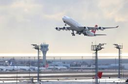 طائرة تحلق في أجواء تركيا  كل 17 ثانية