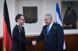 """وزير الخارجية الالماني يصل اليوم لتحذير """"اسرائيل """" من تطبيق الضم"""