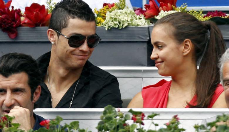 """رونالدو نادم جدا على انفصاله عن صديقته السابقة """"ايرينا شايك """""""