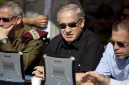 """نتنياهو يلتقي بغانتس قبل تنازله عن """"حكم اسرائيل """""""