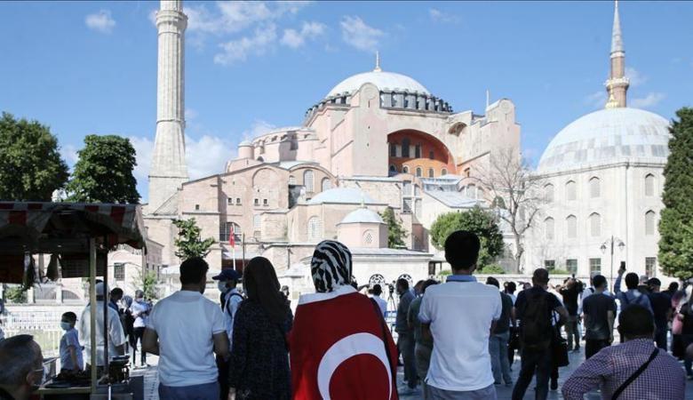 """خطيب الأقصى: تحويل """"آيا صوفيا"""" إلى مسجد """"قرار عادل"""""""