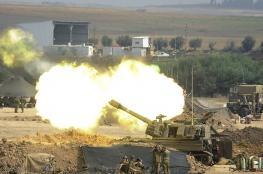 الاحتلال يقصف قطاع غزة ردا على اطلاق صواريخ صوب المستوطنات