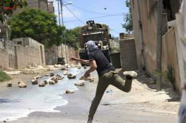 10 اصابات بعد قمع الاحتلال لمسيرة كفرقدوم الاسبوعية