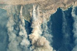 الامطار تهطل بغزارة على المناطق التي تشتعل فيها النيران باستراليا