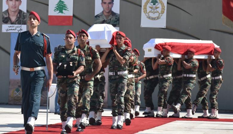 الجيش اللبناني يعلن مقتل جنديين بنيران مسلحين