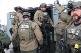 مقتل 5 أشخاص وإصابة 5 ضباط شرطة في اشتبكات دامية بولاية ايلينوي الامريكية