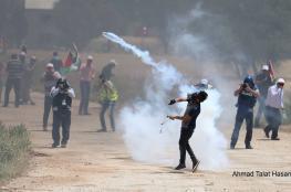 تقرير مفصل.. 44 إصابة بمواجهات مع الاحتلال بجمعة غضب للأسرى في غزة والضفة