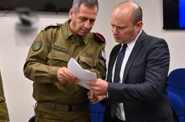 قيادة جيش الاحتلال : تصريحات بينيت بلا رصيد