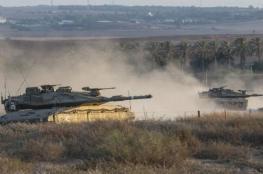إطلاق نار على مركبة لجيش الاحتلال وقصف مدفعي شمال القطاع
