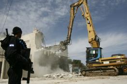 قرار اسرائيلي بهدم منزلين في القدس