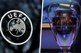 اليويفا يقررر تعطيل جميع المسابقات الاوروبية حتى اشعار آخر