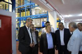 """وزير الاقتصاد يعلن عن إنشاء 50 مصنع قريبا في """"أريحا الصناعية"""""""