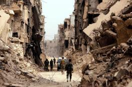 الرئيس يعطي تعليماته لتغطية كافة نفقات ازالة الانقاض من شوارع اليرموك