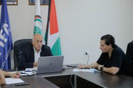 """الرجوب يُطلع """"فيفا"""" على آخر مستجدات اللعبة في فلسطين"""