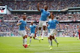 """مانشستر سيتي يفوز بكأس """"الدرع الخيرية"""" على حساب ليفربول"""