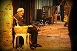 """وفاة """"حسن """"  أقدم بائع ترمس في نابلس"""