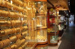 اسعار الذهب ترتفع الى مستويات عالية