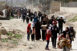 الدفاع الروسية : 128 الف شخص خرجوا من الغوطة الشرقية