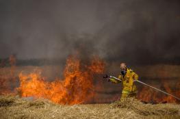 جيش الاحتلال يقرر تجنيد جنود احتياط لإطفاء حرائق الطائرات الورقية