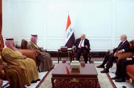 وزير الخارجية السعودي في العراق لأول مرة