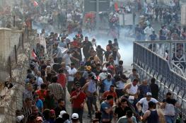 احتجاجات العراق ...السلطات تقرر حظر التجوال في بغداد