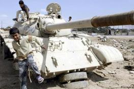سبائك ذهبية في دبابة عراقية!
