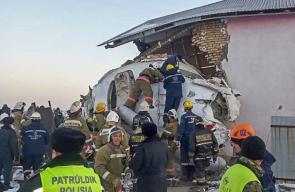 مقتل 12 شخصاً في تحطم طائرة بكازخيستان