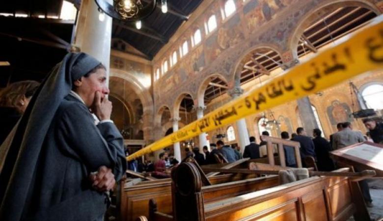 """القبض على """"مشتبه رئيسي"""" في تفجير الكنيسة بالقاهرة"""