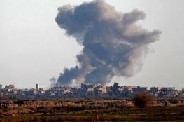 اسرائيل تقصف دمشق وسوريا تؤكد : تصدينا للعدوان