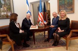 بينس لنتنياهو: يسرني أن أقف هنا الى جانبك في القدس عاصمة اسرائيل!