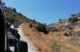 الاحتلال يفصل مناطق غرب رام الله عن المدينة