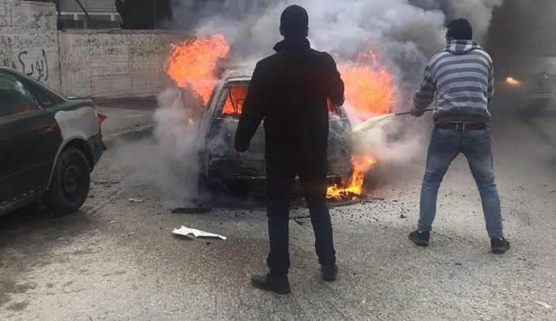عشائر المالحة تصدر بيانا ً بعد الاعتداء على احد ابنائها واحراق سيارته في منطقة قلنديا