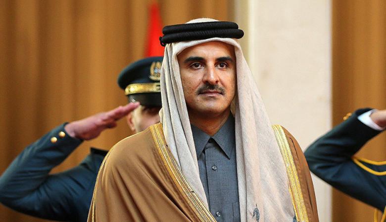 امير قطر : سنتخذ كل ما يلزم لانهاء أزمة الفلسطينيين