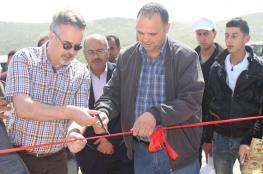 افتتاح مشروع للطاقة الشمسية في يعبد بجنين