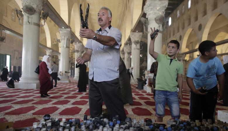 الاوقاف الاسلامية تكشف تفاصيل الخراب والعبث بالمسجد الأقصى
